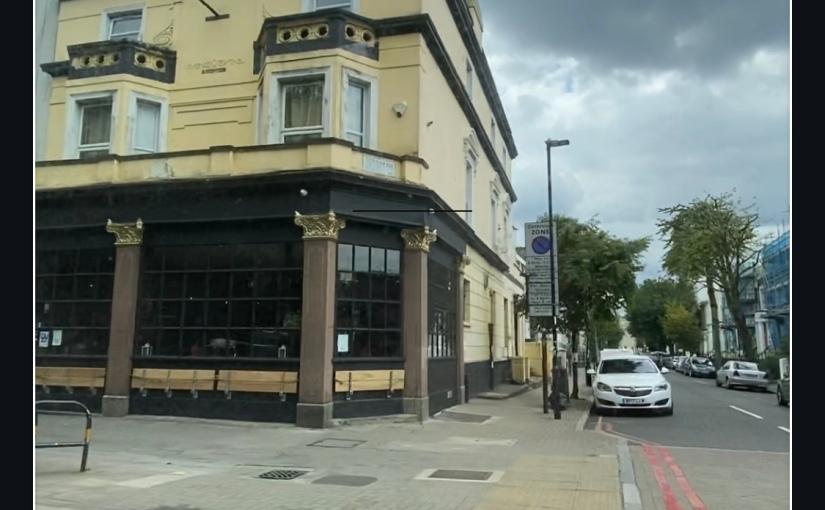 London: My first view e avida